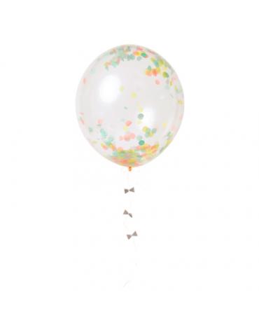Kit ballons Confettis flashy