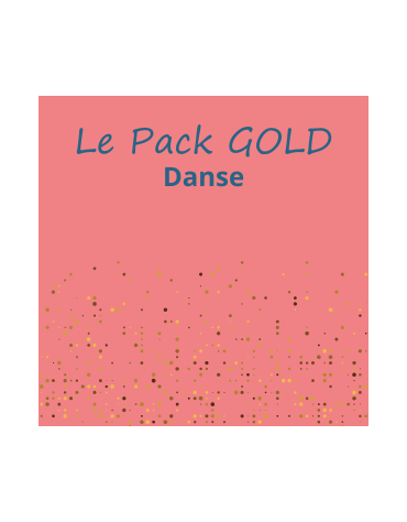 Le Pack danse GOLD