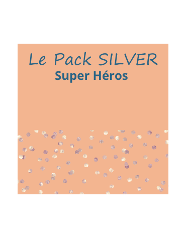Le Pack super héros silver