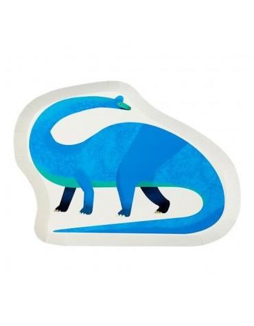 Assiettes Brachiosaurus