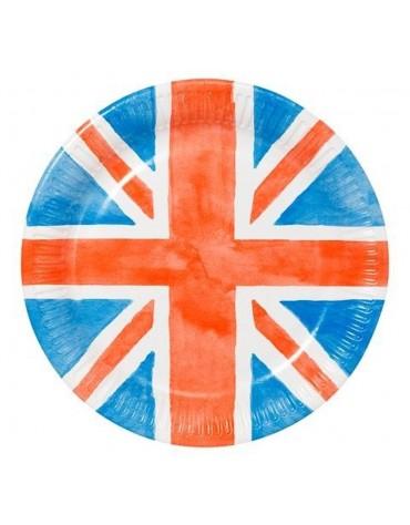 8 Grandes Assiettes British Talking Tables décoration table de fête
