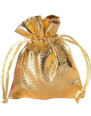 Sachets Dorés décoration de table et cadeaux