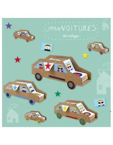 Kit Créatif Voitures Pirouette Caccahouète