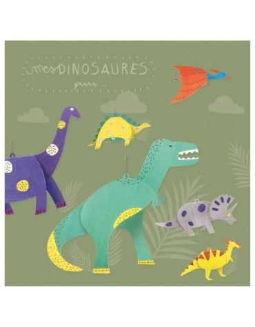 Kit Créatif Dinosaures Pirouette Cacachouète
