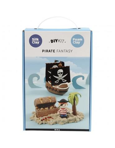 1 Kit de modelage le monde des Pirates matériel