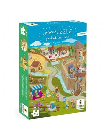 Jeu de Puzzle Chateau Fort Pirouette Caccahouète