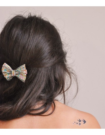1 Barrette Strass Great pretenders