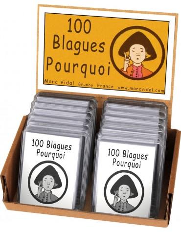 100 Blagues Pourquoi Marc Vidal