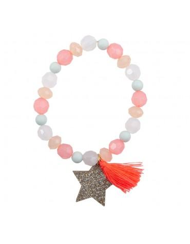 1 Bracelet tassel et étoile cadeau enfant Great pretenders