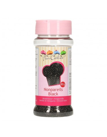1 pot Granulés noirs en Sucre