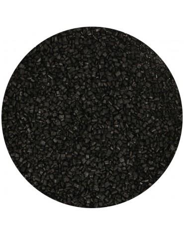 1 pot de Sucre coloré noir