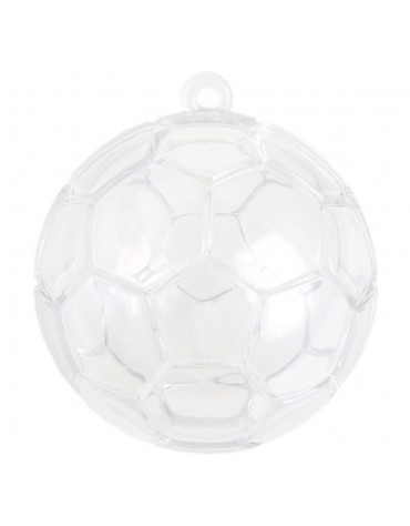 4 Boules transparentes Ballon anniversaire thème football