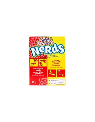 1 Boîte Nerds double dipped limonade cerise