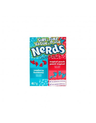 1 Boite Nerds surf and turf framboise et tropical