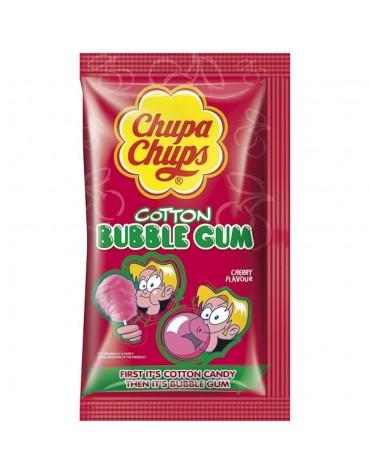 1 Sachet Chupa Chups Barbe à papa cerise / Chewing-gum