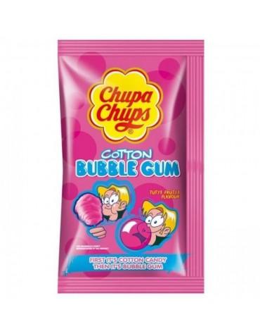 1 Sachet Chupa Chups Barbe à papa tutti frutti / Chewing-gum