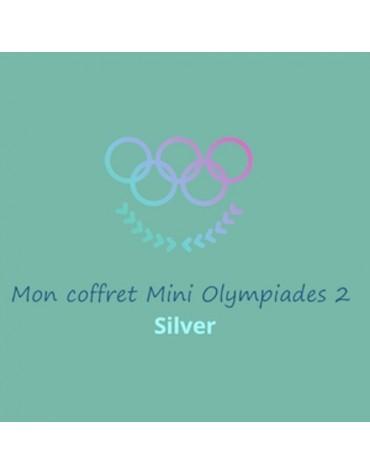 coffret anniversaire silver Mini Olympiades