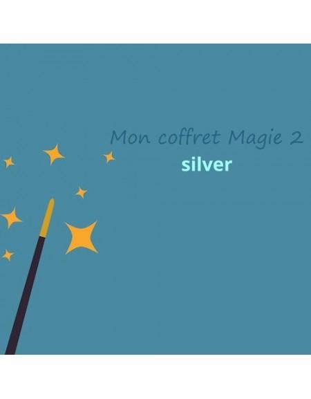 coffret anniversaire silver Magie