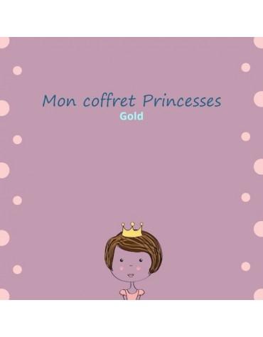 coffret anniversaire Princesses gold