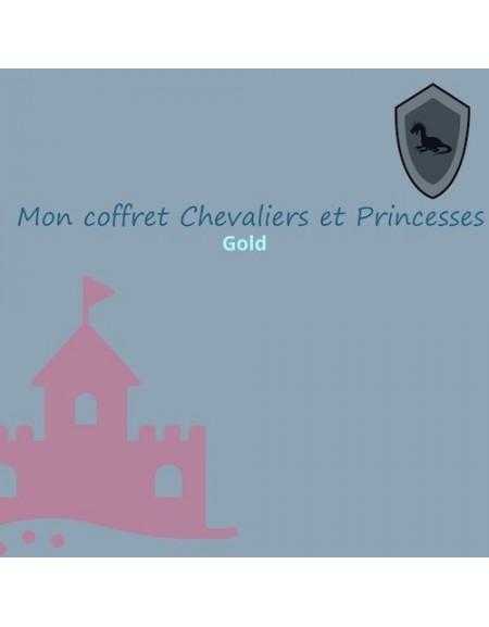 Coffret anniversaire chevaliers et princesses