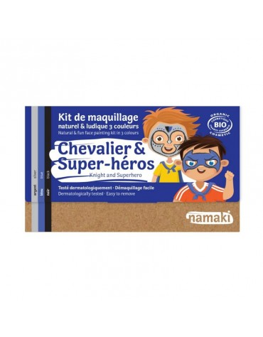 Kit 3 couleurs chevalier et super-héros Namaki