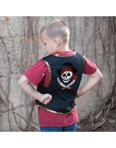 1 Déguisement Pirate et cache oeil 4-7 ans Great Pretenders