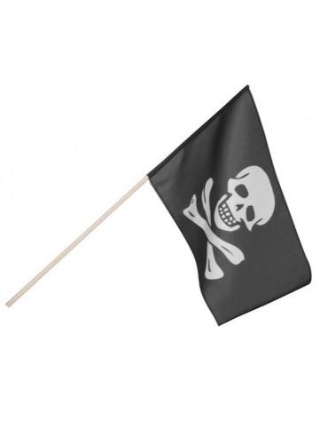Drapeau de pirate avec bâton décoration anniversaire