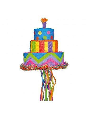 Pinata Gâteau d'anniversaire anniversaire enfant