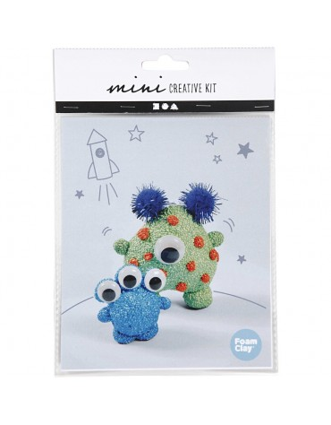 Mini Kit de modelage extra terrestre loisirs créatifs