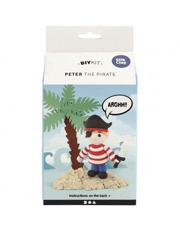 Kit de modelage Pirate garçon anniversaire enfants