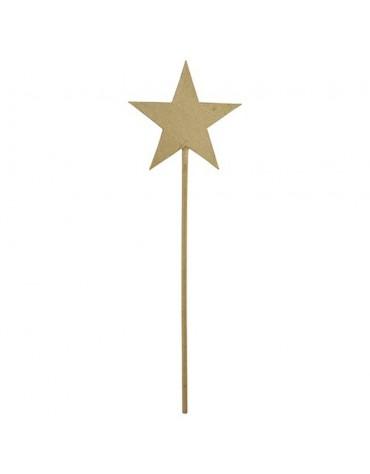 1 Baguette étoile papier mâché loisirs créatifs enfants