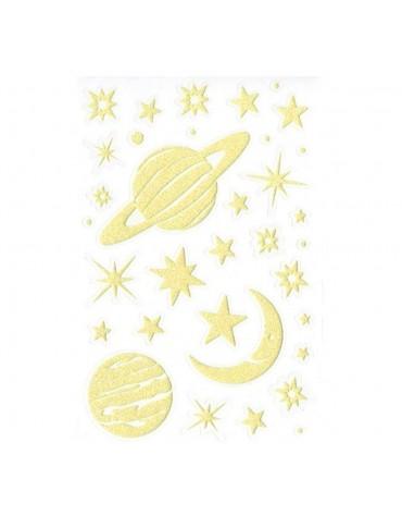 Stickers Planètes Phosphorescentes Maildor