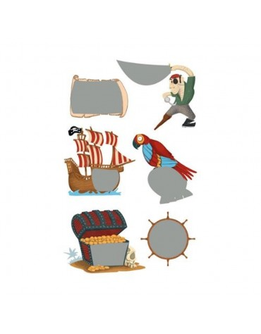 Stickers Chasse au Trésor Maildor anniversaire enfants