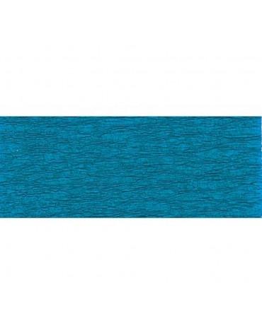 1 Rouleau papier crépon bleu loisirs anniversaire enfants