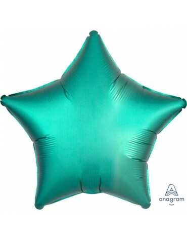 1 ballon Mylar Etoile Jade métallisé fête anniversaire enfants