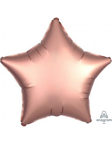 1 ballon Mylar Etoile Rose métallisé fête anniversaire enfants