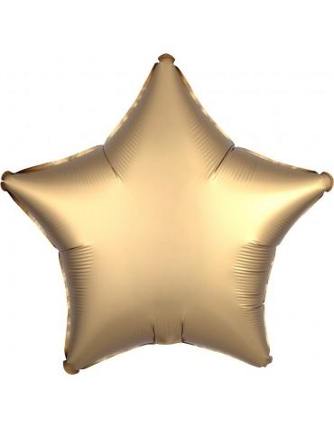 1 ballon Mylar Etoile Doré métallisé fête anniversaire enfants
