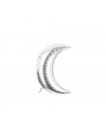 1 ballon Mylar Lune Argenté métallisé fête anniversaire enfants