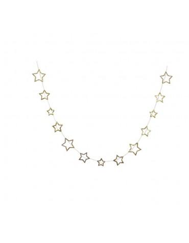 Guirlande étoiles d'or Meri Meri décoration fête anniversaire