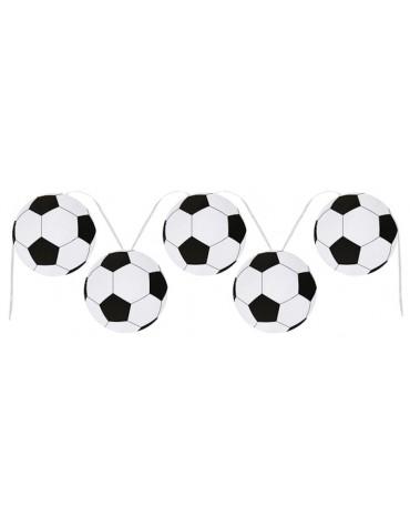 Guirlande Ballons de foot décoration fête anniversaire