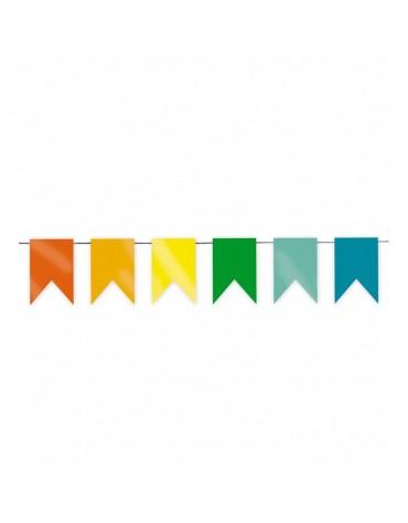 Guirlande MinI Fanions Multicolores décoration fête anniversaire