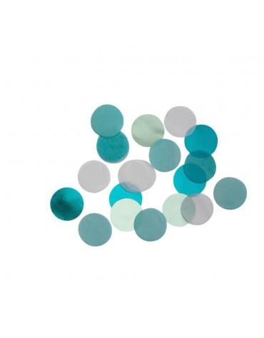 Confettis en Dégradé de Bleu Meri Meri décoration table de fête