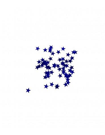 Confettis Etoiles Bleues décoration table de fête