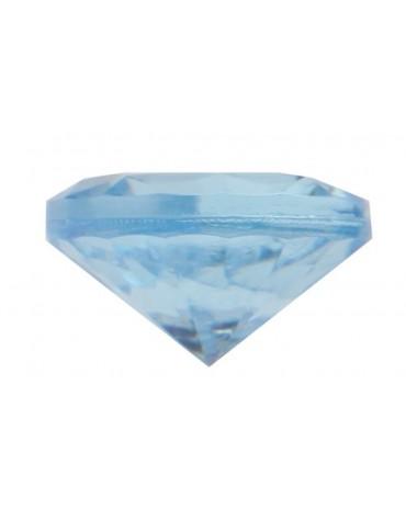 Sachet de petits diamants bleus décoration table de fête