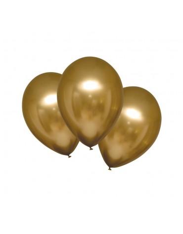 Ballons Or nacré décoration fête anniversaire