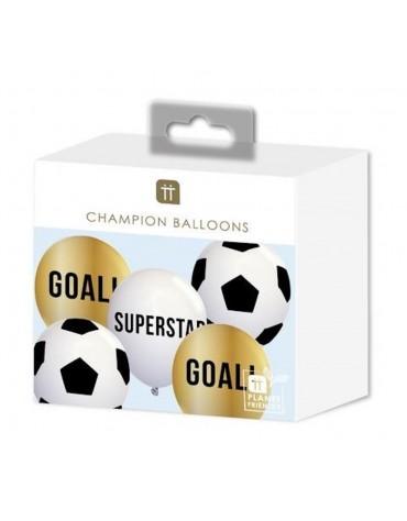 Ballons Football décoration fête anniversaire enfants