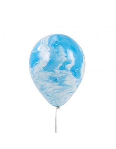 Ballons Bleu Marbré Talking Tables fête anniversaire