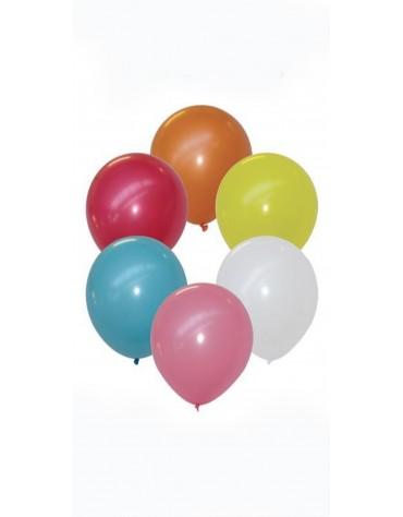 8 Ballons Assortis décorationfête anniversaire