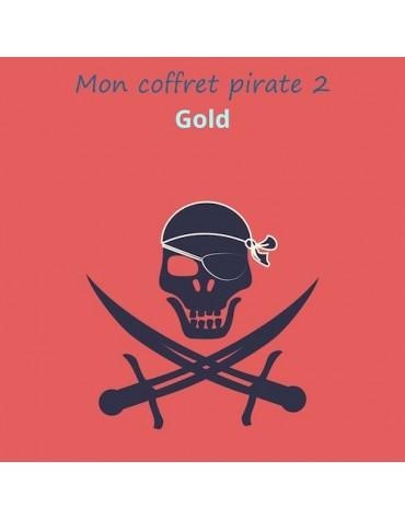 Mon coffret anniversaire Pirate 2 GOLD