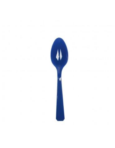 10 Cuillères Bleu Marine décoration table de fête